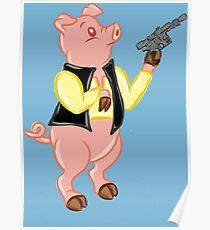 Ham Solo Poster
