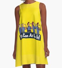 We can All do it- #LoveTrumpsHate A-Line Dress