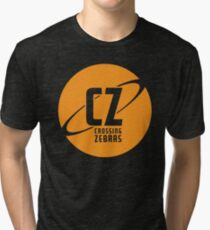 Crossing Zebras Orb Graphic Tri-blend T-Shirt