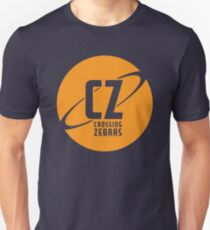 Crossing Zebras Orb Graphic T-Shirt