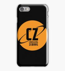 Crossing Zebras Orb Graphic iPhone Case/Skin