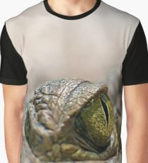 Crocodile's Eye Graphic T-Shirt