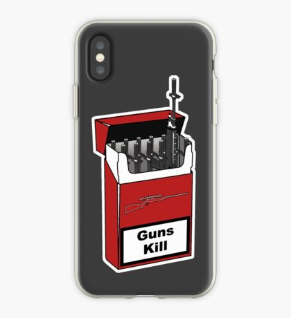 Guns Kill iPhone Case