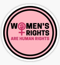 Women's Rights Are Human Rights Sticker