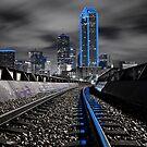 "Dallas ""Cowboys"" Skyline by josephhaubert"