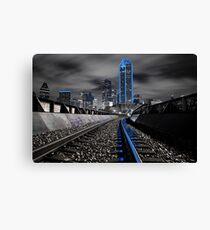 "Dallas ""Cowboys"" Skyline Canvas Print"
