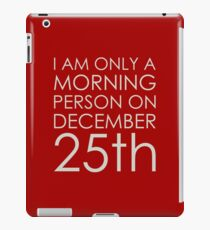 Christmas Morning iPad Case/Skin