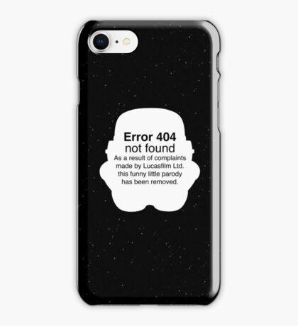 Error 404 iPhone Case/Skin