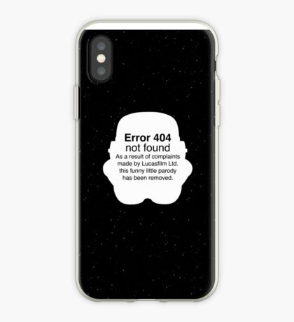 Error 404 iPhone Case