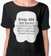 Error 404 Women's Chiffon Top