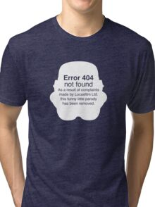 Error 404 Tri-blend T-Shirt