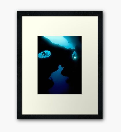 Cathedral at Pescador Island Framed Print