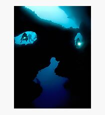 Cathedral at Pescador Island Photographic Print
