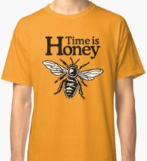 Time Is Honey Beekeeper Quote Design Classic T-Shirt