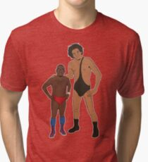 Eric Andre the Giant Tri-blend T-Shirt