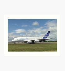 Airbus A380-861   F-WWDD Art Print