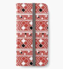 Yuchi Red Square iPhone Wallet/Case/Skin