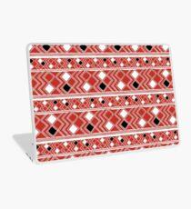 Yuchi Red Square Laptop Skin