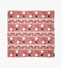 Yuchi Red Square Scarf