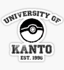 University of Kanto Sticker