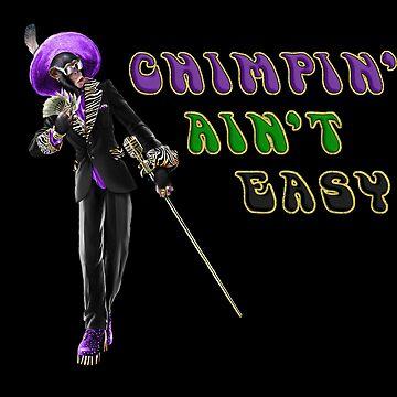Chimpin' Ain't Easy by girldani