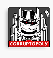 Corruptópoly Canvas Print
