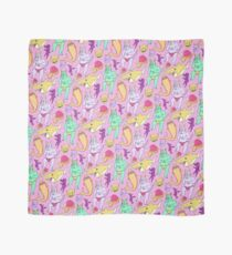 Paisley Pink Monsters Scarf