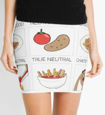 ketchup and fries alignment system Mini Skirt