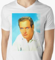 Paul Newman Men's V-Neck T-Shirt