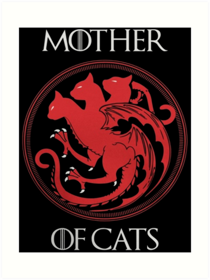 """Mother of Cats"" Art Prints by pageo 