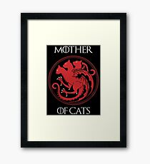 Mother of Cats Framed Print