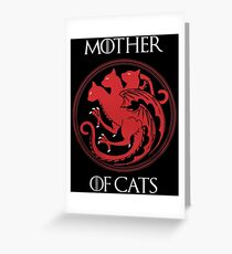 Mother of Cats Greeting Card
