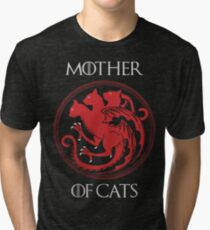Mother of Cats Tri-blend T-Shirt