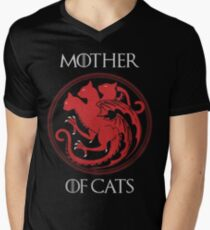 Mother of Cats Men's V-Neck T-Shirt