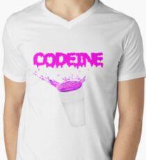 Codeine Men's V-Neck T-Shirt
