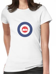 Vespa Paperino Mod Culture Womens Fitted T-Shirt