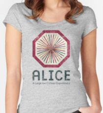 Alice VIntage Emblem Women's Fitted Scoop T-Shirt