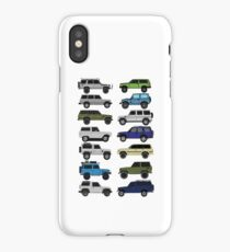 4x4 offroad Trucks Collection  iPhone Case/Skin
