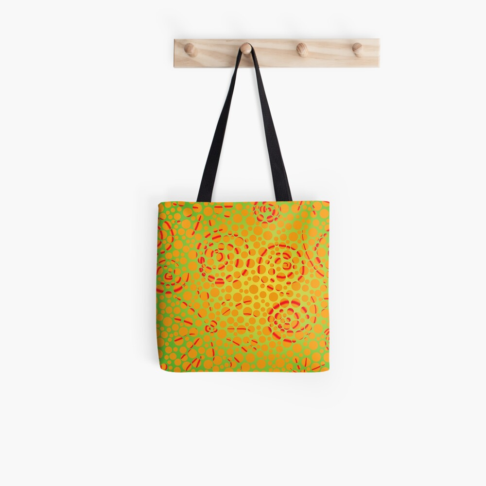 Soft Lightning Bubble Explosion in the Spiral Universe  Tote Bag