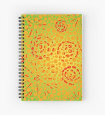 Soft Lightning Bubble Explosion in the Spiral Universe  Cuaderno de espiral