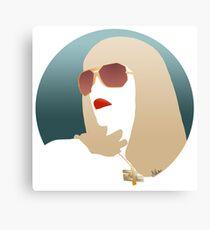 Gwen Stefani Canvas Print