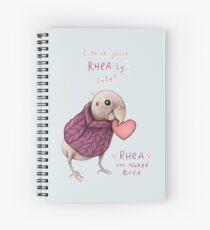 Rhea - Rhea-ly Cute! Spiral Notebook