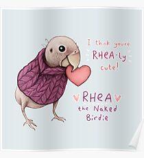 Rhea - Rhea-ly Cute! Poster