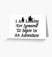 A Most Interesting Adventure Greeting Card