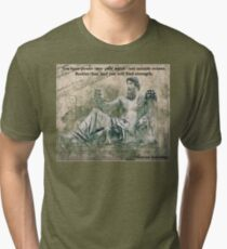 Marcus Aurelius- Power over your mind Tri-blend T-Shirt