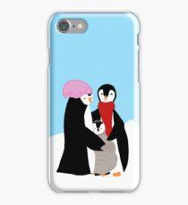 Happy Penguin Family iPhone Case/Skin