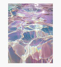 Holographic trippy Photographic Print