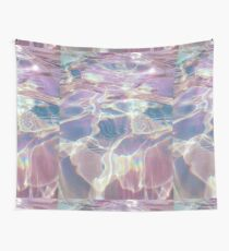 Holographic trippy Wall Tapestry