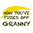 NOW YOU'VE PISSED OFF GRANNY by Thomas Barker-Detwiler