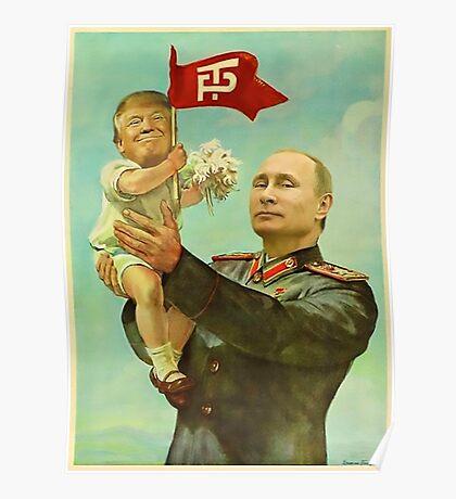 Trump Putin Poster